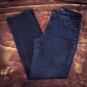 NYDJ Jeans straight leg Dark Wash 6P